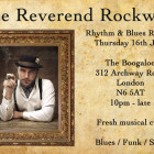 16th July – The Reverend Rockwell Rhythm & Blues Review