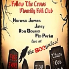 Oct 30th – Follow the Crows