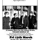 Fri 13th March – Cronin Nelson Riddle EP Launch