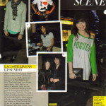 Grazia party scene with Daisy press cut