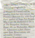 Ham High March 2004 press cut