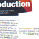 London Evening Standard - Aug 03 - press cut