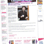 Now Celeb News press cut