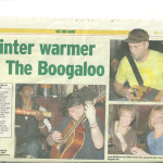 Winter Warmer at The Boogaloo press cut