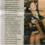 Sharon Shannon Oct 08 Booglaoo press cut