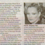 Independent August 06 - Kate Moss press cut
