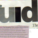 Guardian March 2003 press cut
