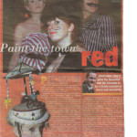 paint the town red press cut