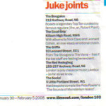 Time Out Juke Joints press cut