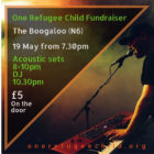 One Refugee Child Benefit Show – Thurs 19 May